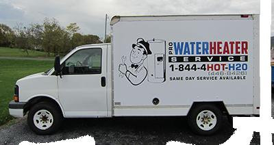 repair and installation of residential water heaters in eastern panhandle west virginia